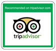 Recommended by TripAdvisor