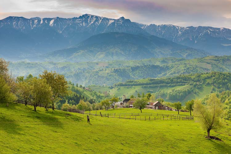 Romania farm view