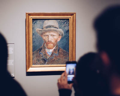 Virtually visit a museum or art gallery
